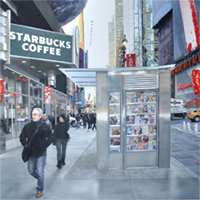 Hyperreal painting Walkin' NY by Denis Peterson